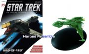 Star Trek Official Starships Collection #035 Early Klingon Bird Of Prey Eaglemoss